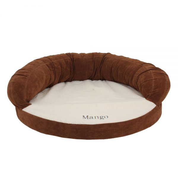 Ortho Sleeper Bolster Bed Chocolate_EMB