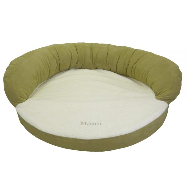 Ortho Sleeper Bolster Bed Sage_EMB
